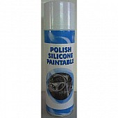 POLISH SILICONE ORANGE PAINTABLE 650 ML