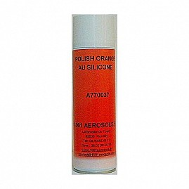 POLISH ORANGE AU SILICONE 650 ML au rayon Aérosols, VEHICULES - Polish - Cleaner