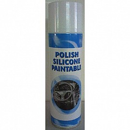 POLISH SILICONE ORANGE PAINTABLE 650 ML au rayon Aérosols, VEHICULES - Lustrant - Protecteur