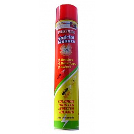 INSECTICIDE SPECIAL VOLANTS   750ml au rayon Aérosols, MAISON - Insecticide