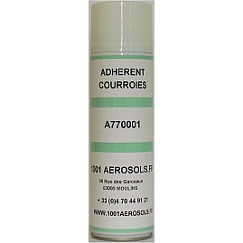 ADHESIF ANTI-PATINAGE TOUT TYPES DE COURROIES DE TRANSMISSION 650 ML au rayon Aérosols, MAINTENANCE - Anti-dérapant, Courroie